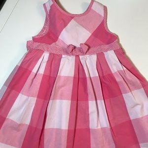 Pretty in Pink Checked Dress